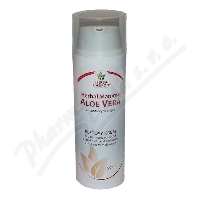 Aloe Vera pleťový krém 50ml Herbal Harmony