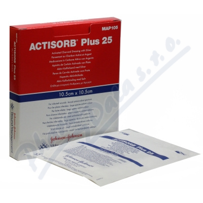 Actisorb Plus 10.5x10.5cm 5ks